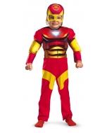 Iron Man Toddler Muscle 2T