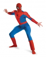 Spiderman Dlx Muscle Costume