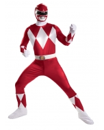 Red Ranger Super Deluxe Adult