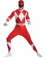 Red Ranger Bodysuit Adult Cost