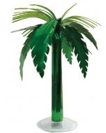 Metallic Palm Tree Table Dcor
