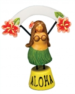 Hula Girl Food /Place Setter 3