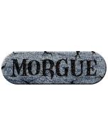 Morgue Foam Plaque