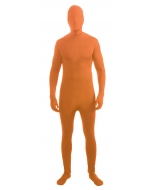 Skin Suit Neon Orange Adult St