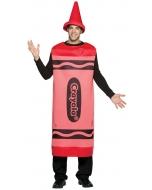 Crayola Costume Red Adlt Lg/Xl