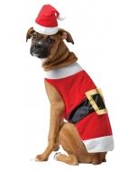 Pet Costume Santa
