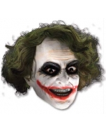 Joker 3/4 Vinyl Mask W Hair