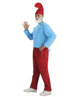 Papa Smurf Adult Costume Xl