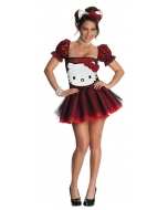 Hello Kitty Red Sm Adult