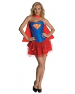 Supergirl Adult Flirty Xs
