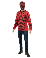 Darth Maul Top Mask Adult Med