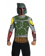 Boba Fett Top Cape Mask Adt Md