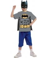 Batman Child Shirt Mask Cape L