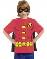 Robin Child Shirt Mask Cape Sm