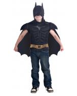 Batman Muscle Shirt Cape Child