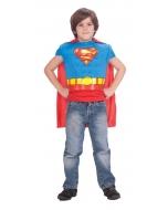 Superman Musc Shirt Cape Child