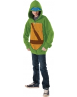 Teenage Mutant Ninja Turtles Leonardo Hoodie Child Larg