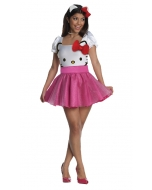 Hello Kitty Pink Md Adult