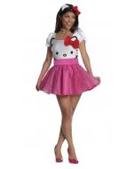 Hello Kitty Pink Lg Adult