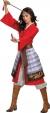 MULAN HERO RED DRESS DLX 18-20