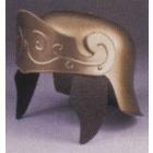 Roman Helmet Gold W No Crest