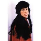 Vampira Wig Dlx Modern Black