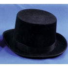 Top Hat Felt Qual Black Sml
