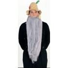 Mohair 25 Inch Grey Beard
