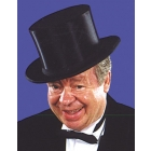 Top Hat Collapsible Black Adul