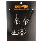 Necklace Ring Earring Set Spid