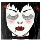 Eye Lashes Black And Tinsel