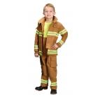 Fire Fighter Child Tan Med 6-8