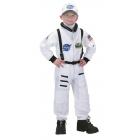 Astronaut Suit White 8-10