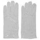 Gloves Cotton W Snap White