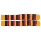 Socks Clown Yellow Red Blue