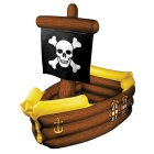 Pirate Ship Cooler Inflatable