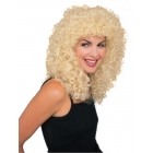 Wig Curly Extra Long Blonde