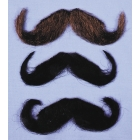 Mustache 20S Style Dk Brown