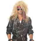 Heavy Metal Rocker Blonde Wig