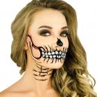 Glitter Skull Stencil Kit