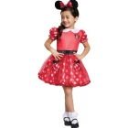 Red Minnie Mouse Toddler 3-4T