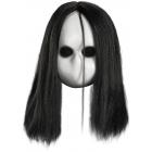 Blank Black Eyes Doll Mask