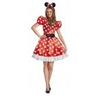 Red Minnie Classic Adult 12-14