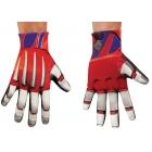 Optimus Prime Gloves Adult
