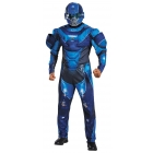 Blue Spartan Muscl Adult 42-46