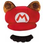 Raccoon Hat Mustache Adult