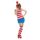 Where'S Waldo Dress Sm Med