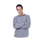 Clown Shirt Blue White Ad Lg