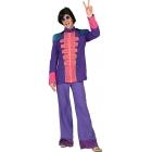 Fab 60'S Jacket Purple Ad Med