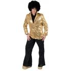 Disco Jacket Gold Adult Std